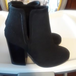 Call it Spring Black Booties Size 5